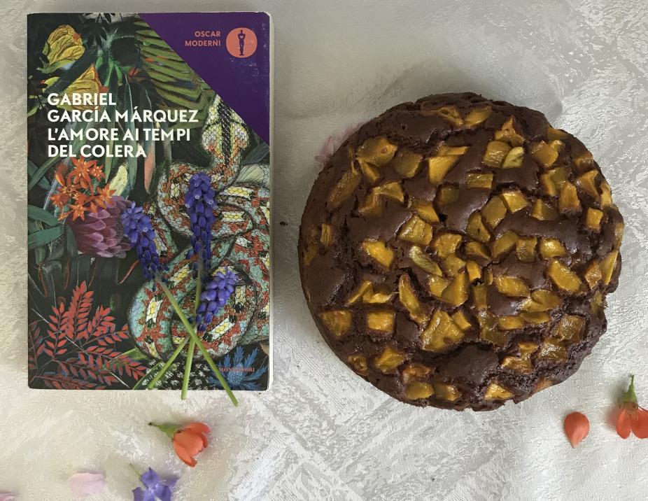 La torta mango e cioccolato per Florentino Ariza e Fermina Daza