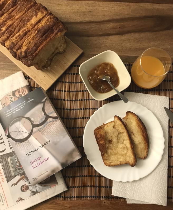 A colazione con Richard Papen: il Pane dolce americano